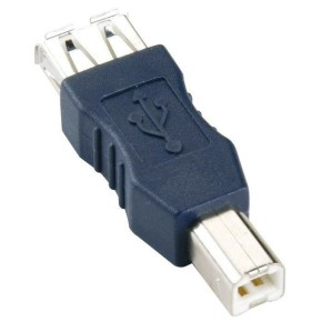 Bandridge CA46100X, USB A-B adapter A ž - B m