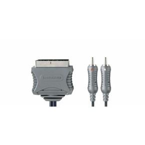 Bandridge VL7583, A/V kabel, Skart - 2XRCA, 3.0m