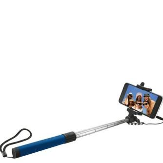 Štap za selfie, univerzalni, plavi, Celly