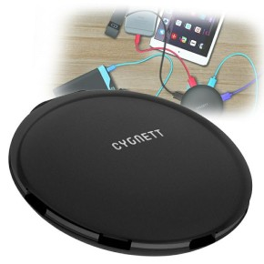 Cygnett, punjač sa 5 USB portova, SuperCharger UFO, 5V 5.0A, crni