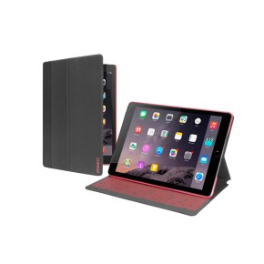 Cygnett, zaštitna navlaka za iPad Air 2, TekShell, tamno sivo/crvena