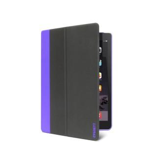Cygnett, zaštitna navlaka za iPad mini 4, TekShell, tamno sivo/ljubičasta