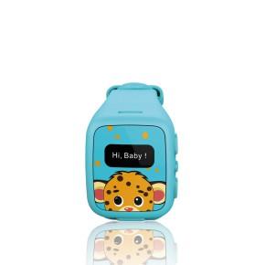 Dječji pametni sat, GPS, telefon, praćenje djece, plavi KSIX