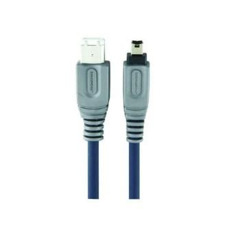Firewire kabel 6p - 4p, 2 m, Bandridge CL62002X