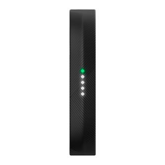 Fitness narukvica za mjerenje aktivnosti, crna, Fitbit Flex 2