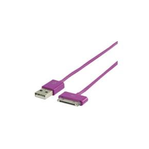 Kabel USB na Apple 30pin, 2 m, ljubičasti, Value Line VLMP39100U2.00