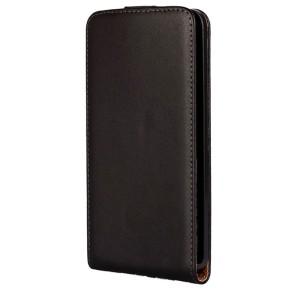 KSIX, preklopna torbica za Microsoft Lumia 640 LTE, crna