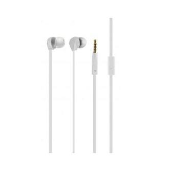 KSIX, stereo slušalice sa mikrofonom, bijele