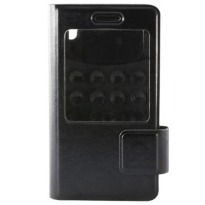 KSIX, univerzalna torbica za smartphone, XXL, 151x79x8mm, crna