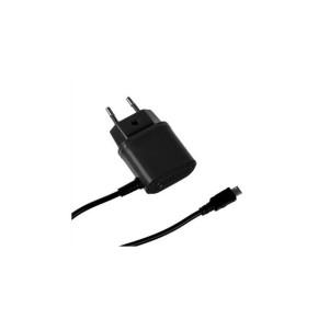 Kućni, zidni punjač micro USB, 1A, crni, CELLY