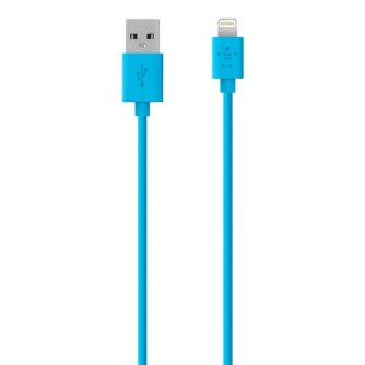 Lightning charge and sync kabel, 1,2 m, plavi, Cygnett