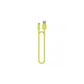 Lightning charge and sync kabel, 1,2 m, zeleni, Cygnett