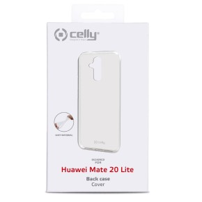 Maska za Huawei Mate 20 Lite, prozirna, Celly