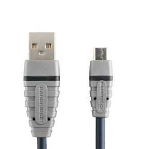 Micro-B USB kabel 2 m, Bandridge BCL4902
