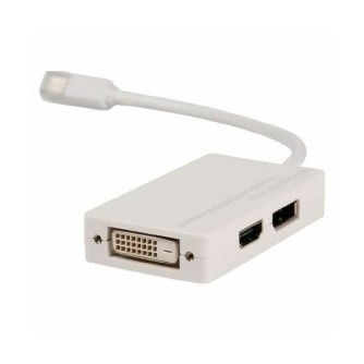 Mini DisplayPort na DVI + DisplayPort + HDMI multi adapter, 0,2 m, Value Line VLMP37460W0.20