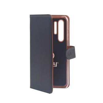 Preklopna torbica za Huawei P30 Pro, crna, CELLY Wally