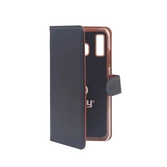 Preklopna torbica za Samsung Galaxy A40 2019, crna, Celly Wally