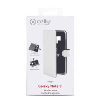 Preklopna torbica za Samsung Galaxy Note 9, bijela, CELLY Wally