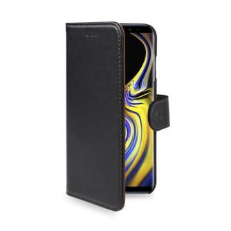 Preklopna torbica za Samsung Galaxy Note 9, crna, CELLY Wally