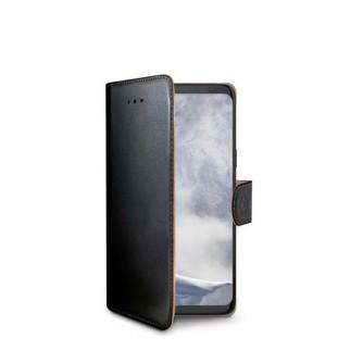 Preklopna torbica za Samsung Galaxy S9, crna CELLY Wally