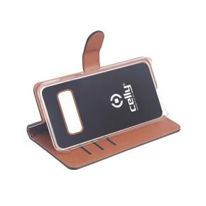 Preklopna torbica za Samsung S10 Plus, crna, Celly Wally