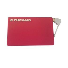 Prijenosna baterija za mobitel 1500 mAh, lightning konektor, crvena, Tucano Tucard