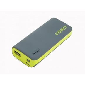 Prijenosna baterija za mobitel, 4400 mAh, sivo/zelena, Cygnett ChargeUp