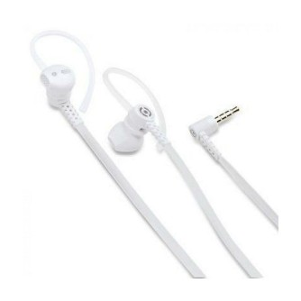 Slušalice sa mikrofonom, sportske, bijele, Celly