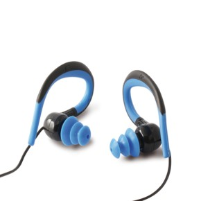 Stereo slušalice sa mikrofonom, vodootporne, plave KSIX