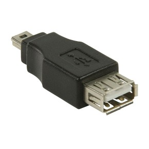 Value Line VLCB60902B, USB 2.0 adapter, USB Mini 5-pin m - USB A ž