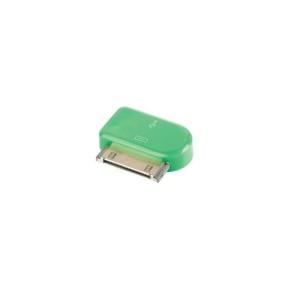 Value Line VLMP39900G, Micro USB na Apple 30pin adapter, zeleni