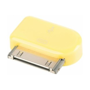 Value Line VLMP39900Y, Micro USB na Apple 30pin adapter, žuti