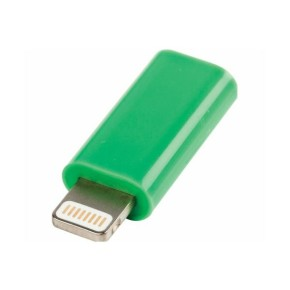 Value Line VLMP39901G, Micro USB na lightning adapter, zeleni