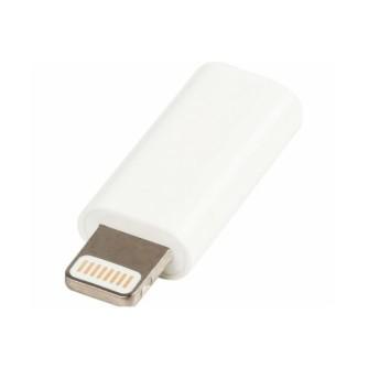 Value Line VLMP39901W, Micro USB na lightning adapter, bijeli