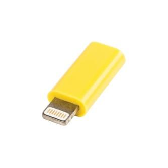 Value Line VLMP39901Y, Micro USB na lightning adapter, žuti