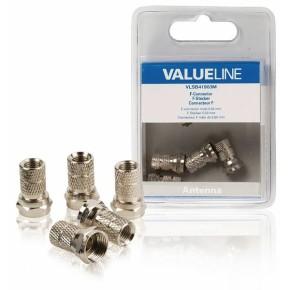Value Line VLSB41903M, F konektori, 5 komada u pakiranju