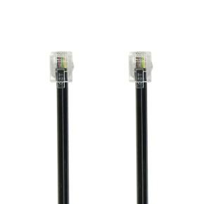 Value Line VTL1011, telefonski kabel, 1.0m, crni