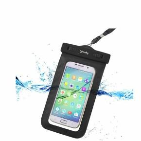 """Vodootporna torbica za smartphone do 5,5"""", crna, Celly"""