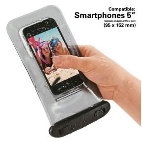 """Vodootporna univerzalna torbica za mobitele do 5,5"""" KSIX"""