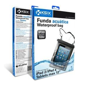 """Vodootporna univerzalna torbica za tablete do 12"""" KSIX"""