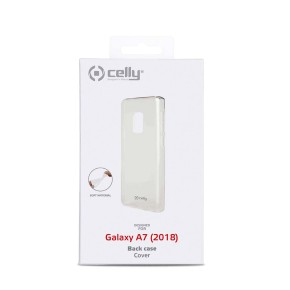 Zaštitna maska za Samsung Galaxy A7 2018, prozirna, Celly GelSkin
