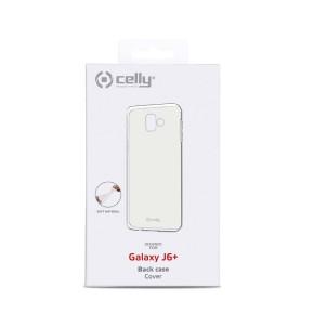 Zaštitna maska za Samsung Galaxy J6+ 2018,, prozirna, Celly GelSkin