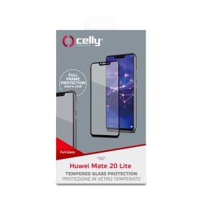 Zaštitno staklo za Huawei Mate 20 Lite, 9H, crno, Celly