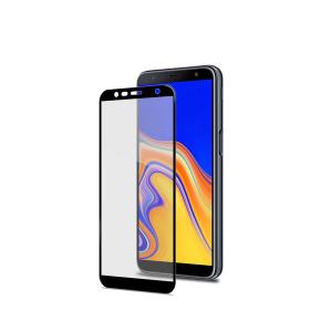 Zaštitno staklo za Samsung Galaxy J6+ 2018, 9H, crno, Celly