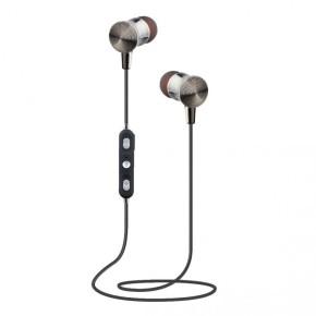 Bežične bluetooth slušalice sa mikrofonom, crne,  SBOX EP-BT218