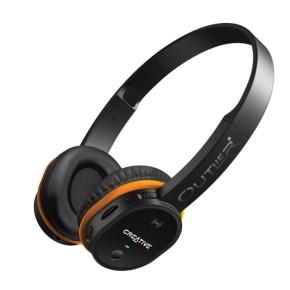 Bluetooth slušalice sa MP3 i NFC, crne, Creative Outlier