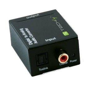 DIGITAL TO ANALOG AUDIO CONVERTER - TECHLY