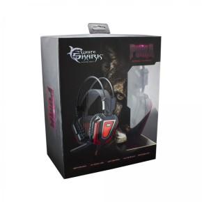 Gaming headset, crno/crveni, White Shark GH-1843 Puma