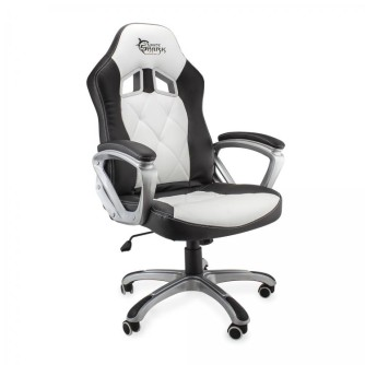 Gaming stolica crno-bijela, White Shark PHANTOM