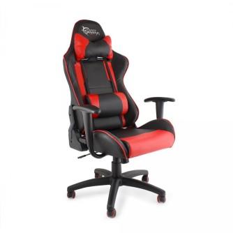 Gaming stolica, crno-crvena, White Shark Tracer